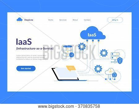 Iaas: Infrastructure As A Service First Screen. Flexible Cloud Computing Model. Virtual Data Center