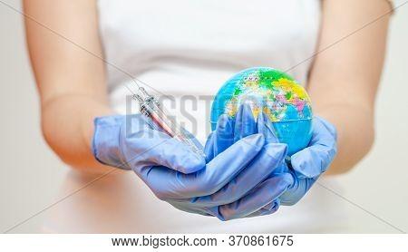 Concept Regarding Global Vaccination For Diseases And Coronavirus .