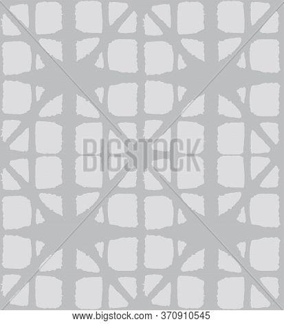 Japanese Tie Dye Seamless Pattern. Rich Vip Japanese Clothes Print. Soft Arc Shell Design Bohemian K