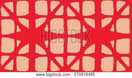 Japanese Tie Dye Seamless Pattern. Bohemian Geometric Asian Tie Dye Design. Organic Shibori Seamless
