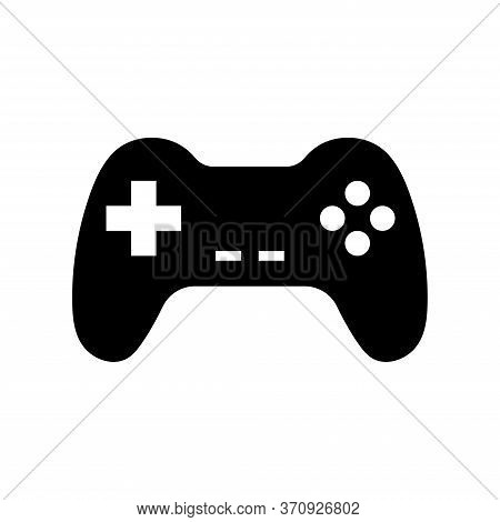Joystick Sign Icon Vector. Gamepad Vector Illustration On White Isolated Background. Gaming Console