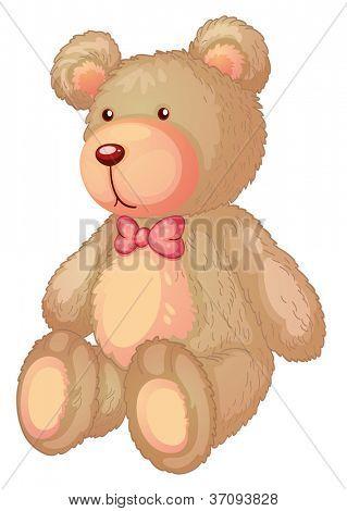 Illustration of a light brown bear