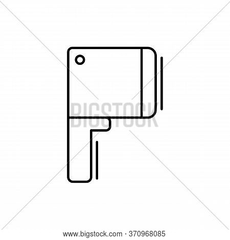 Cleaver Icon. Simple Line, Outline Vector Elements Of Kitchen Object For Ui And Ux, Website Or Mobil
