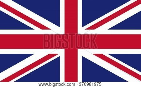 England Flag, Official Colors And Proportion Correctly. National England Flag. Vector Illustration.