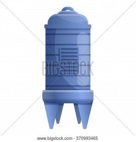 Winemaker Storage Barrel Icon. Cartoon Of Winemaker Storage Barrel Vector Icon For Web Design Isolat