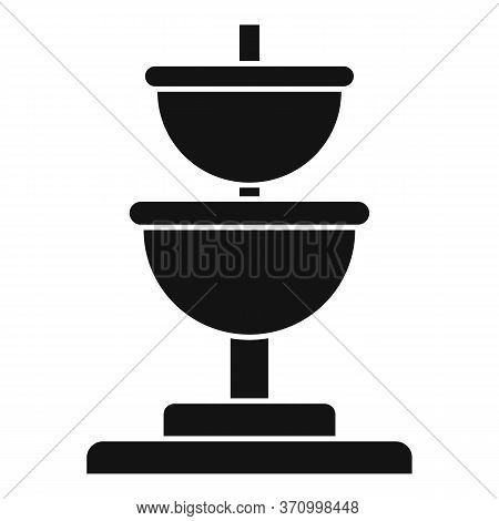 Public Drinking Fountain Icon. Simple Illustration Of Public Drinking Fountain Vector Icon For Web D
