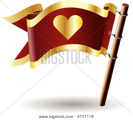 Royal-flag-heart-love-cute
