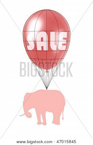 Sales Power And Pink Elephant