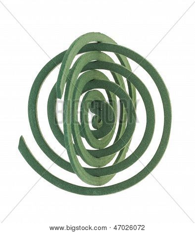 green mosquito spiral