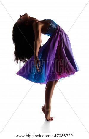 Moderne Tänzerin