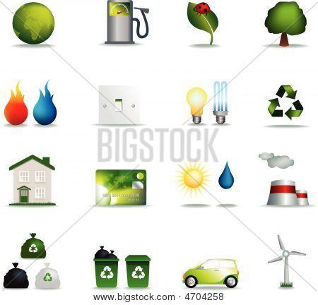 Eco Icons Realistic