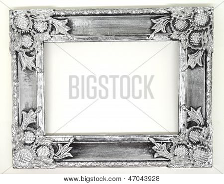 silver vintage frame