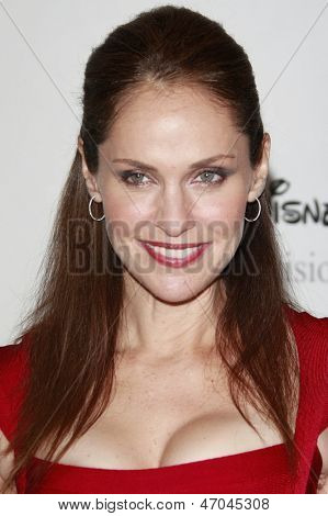 BEVERLY HILLS - JUL 12:  Amy Brenneman at the Disney ABC Television Group Summer All Star party on July 12, 2008 in Beverly Hills, California.