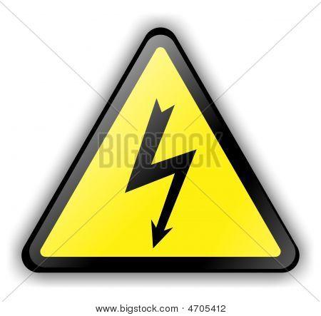 High Voltage Sign 3D