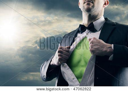 Clean Energy Man