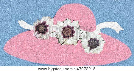 Bonnet in Pink