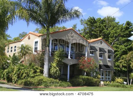 Two Story Mansion In St Petersburg Florida