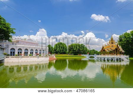 Bang Pa-in Palace, Ayuthaya, Thailand
