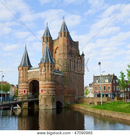 The Gate of Amsterdam, Haarlem, Holland