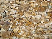 Abstract Background Texture Of A Rock Wall poster