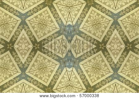 Ornament Floor Background