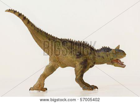 A Flesh Eating Carnotaurus Dinosaur, Meat Eating Bull