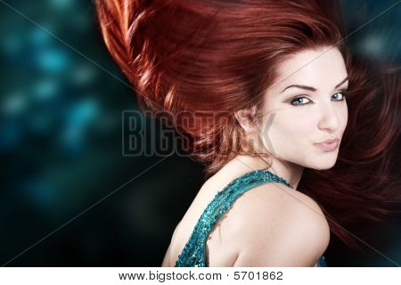 Beautiful Fiery Redhead