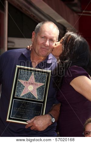 Ed O'Neill and family at the Ed O'Neill Hollywood Walk Of Fame Induction Ceremony, Hollywood, CA. 08-30-11