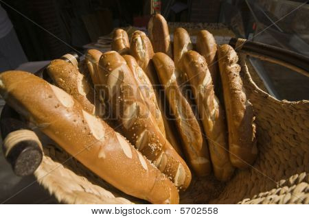 Salted Baguettes