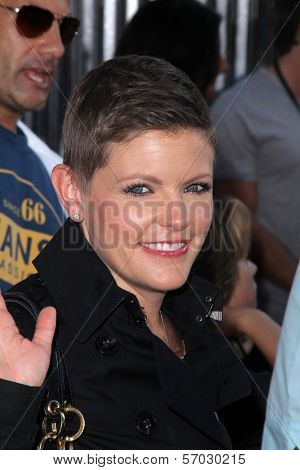 Natalie Maines at the 'Real Steel' World Premiere, Gibson Amphitheater, Universal City, CA 10-02-11