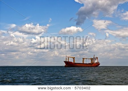 Big Tanker ship
