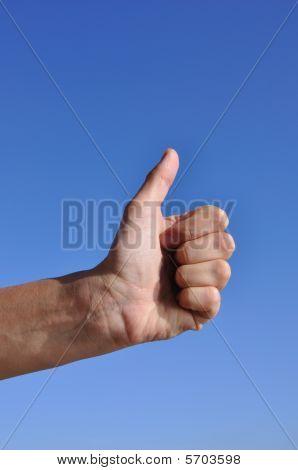 Woman Hand - Thumb Up