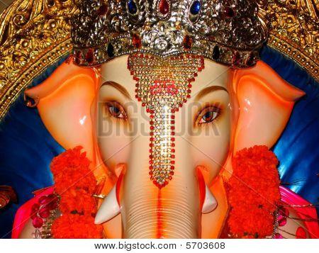 ein auspicious Gesicht ein Lord Ganesha