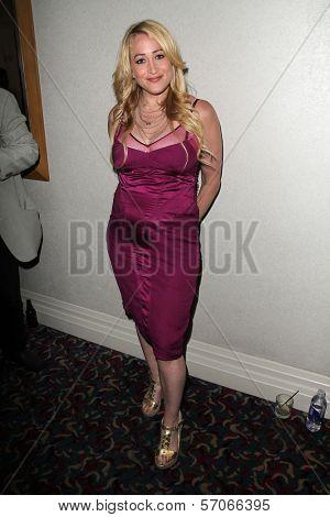 Jennifer Blanc-Biehn at the ITVFEST Awards Banquet honoring Michael Biehn, Renaissance Hotel, Hollywood, CA. 08-12-11