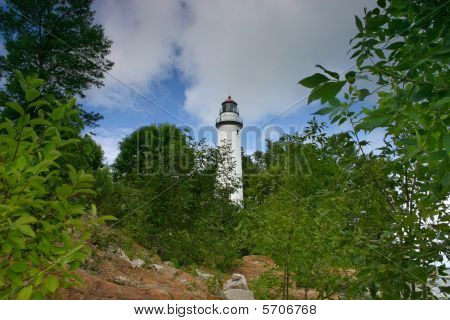 Aux Barques Lighthouse