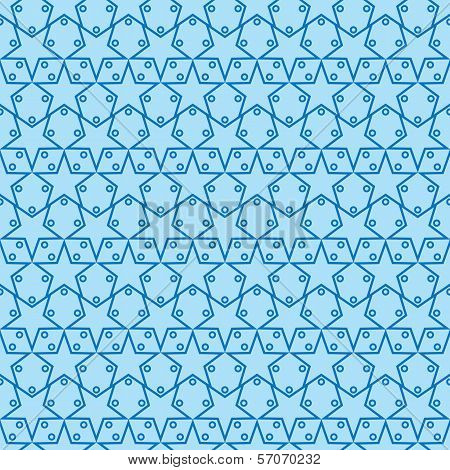 Seamless Star Pattern Two