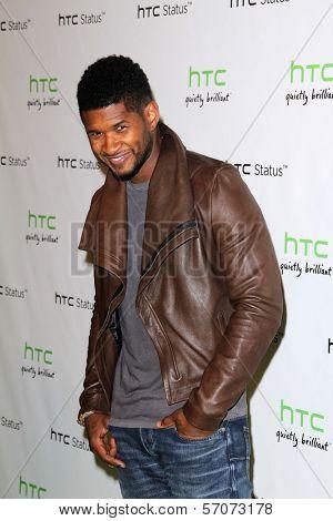 Usher at the HTC Status Social, Paramount Studios, Hollywood, CA. 07-19-11