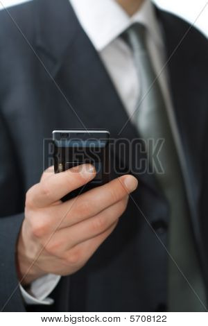 Young Professional Hold A Phone