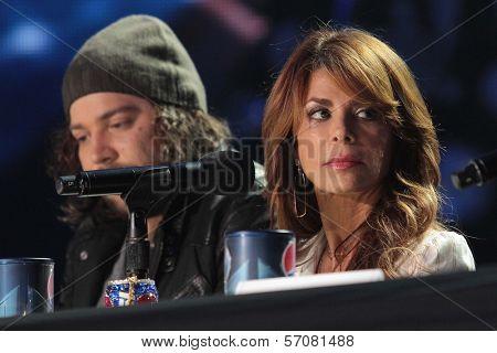 Josh Krajcik, Paula Abdul at