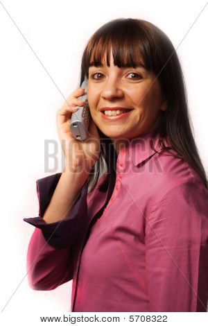 Woman On The Phone