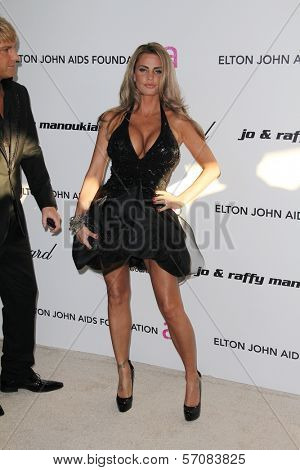 Katie Price at the 19th Annual Elton John Aids Foundation Academy Awards Viewing Party, Pacific Design Center, West Hollywood, CA. 02-27-11