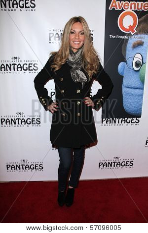 Jasmine Dustin at the AVENUE Q Los Angeles Return, Pantages, Hollywood, CA. 03-01-11