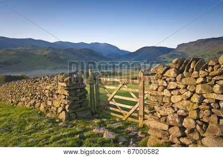 Lake District, Cumbria, Uk