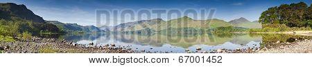 Derwent Water, Lake District, Uk