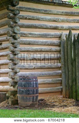Cabin Corner & Barrel