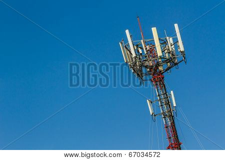 Telecoms Cell Phone Tower.
