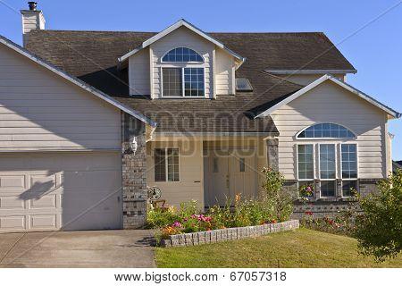 House In A Neighborhood.