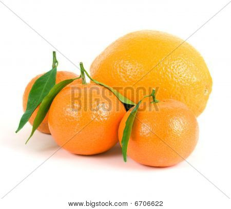 Tangerines And Orange