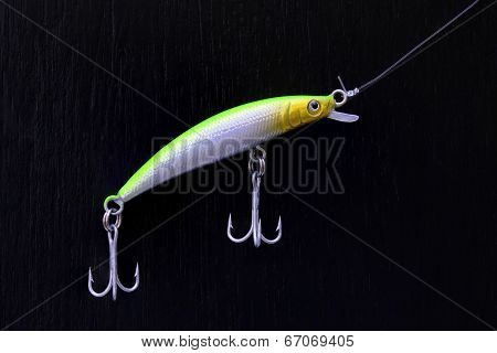 Colorful minnow fishing lure
