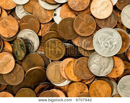 United States Copper and Silver Coins